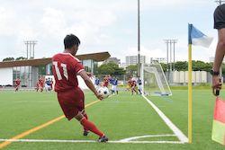 2020/7/24 【那覇西 VS 普天間】沖縄インハイサッカー競技