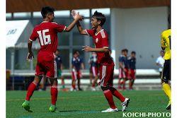 2020/7/20 【那覇西 VS 北中城】沖縄インハイサッカー競技