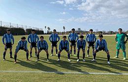 2021/2/20 【鵬翔 VS 佐賀商業】九州高校サッカー新人戦 九州大会