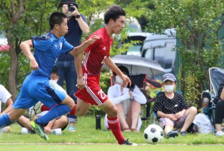 2020/8/2 <br>【富山中部 VS富山商業】<br>富山インハイサッカー競技