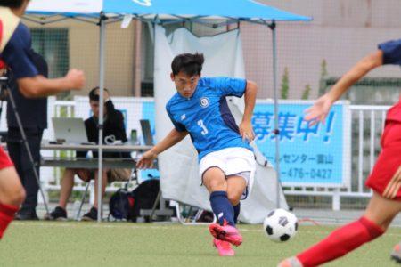 2020/7/26 <br>【 高岡第一VS魚津工業】<br>富山インハイサッカー競技