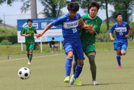 2020/7/26 <br>【高岡工芸 VS富山北部】<br>富山インハイサッカー競技