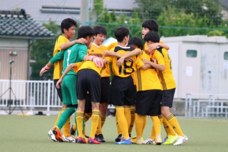 2020/7/26 <br>【 新湊VS富山東】<br>富山インハイサッカー競技