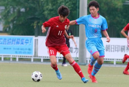 2020/7/23 <br>【 富山中部VS桜井】<br>富山インハイサッカー競技
