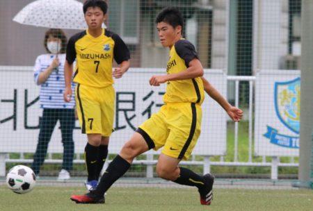 2020/7/24 <br>【高岡南 VS水橋】<br>富山インハイサッカー競技