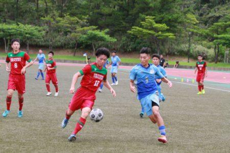 2020/7/18 <br>1回戦【沖縄尚学 VS 知念】<br>沖縄インハイサッカー競技