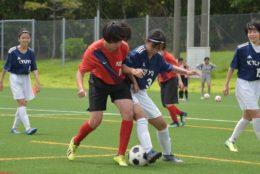 2020/7/18 【向陽 VS 球陽 】沖縄インハイサッカー競技
