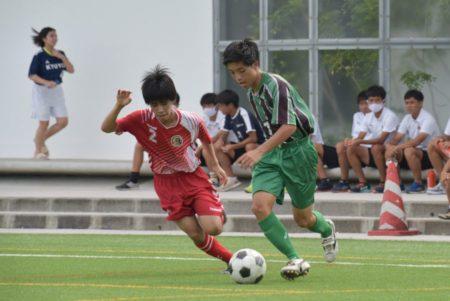 2020/7/18 <br>1回戦【読谷 VS 昭和薬科】<br>沖縄インハイサッカー競技