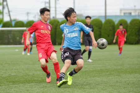 2020/7/24 <br>【 高岡商業VS 国際大付属】<br>富山インハイサッカー競技