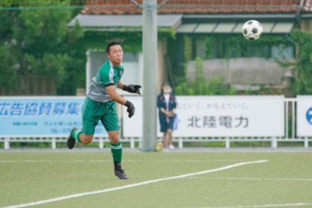 2020/7/24 <br>【富山南 VS八尾】<br>富山インハイサッカー競技