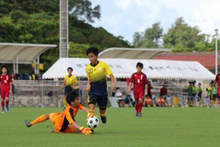 2020/7/19 <br>2回戦【北中城 VS 南部商業】<br>沖縄インハイサッカー競技