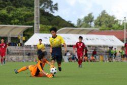 2020/7/19 2回戦【北中城 VS 南部商業】沖縄インハイサッカー競技