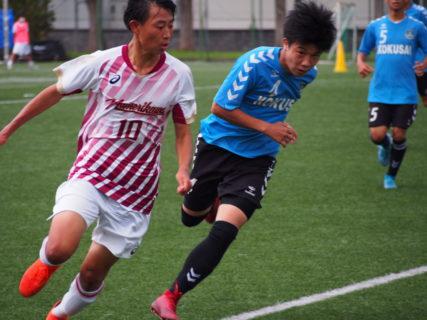 2020/7/26 <br>【 滑川VS国際大付属】<br>富山インハイサッカー競技